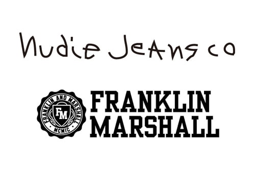 Nudie Jeans co/FRANKLIN AND MARSHALL