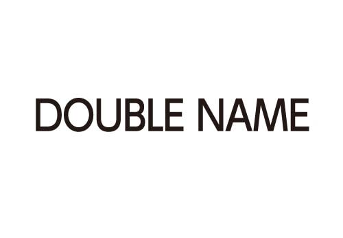DOUBLE NAME