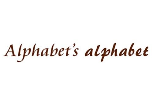 Alphabets alphabet