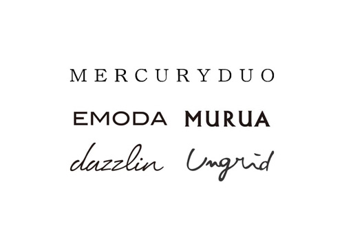 MERCURYDUO/EMODA/MURUA/Ungrid/dazzlin