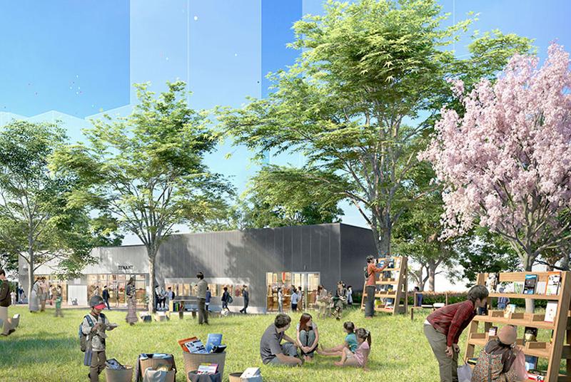 公園と一体になった新しい商業施設【RAYARD Hisaya-odori Park(レイヤード 久屋大通パーク)】