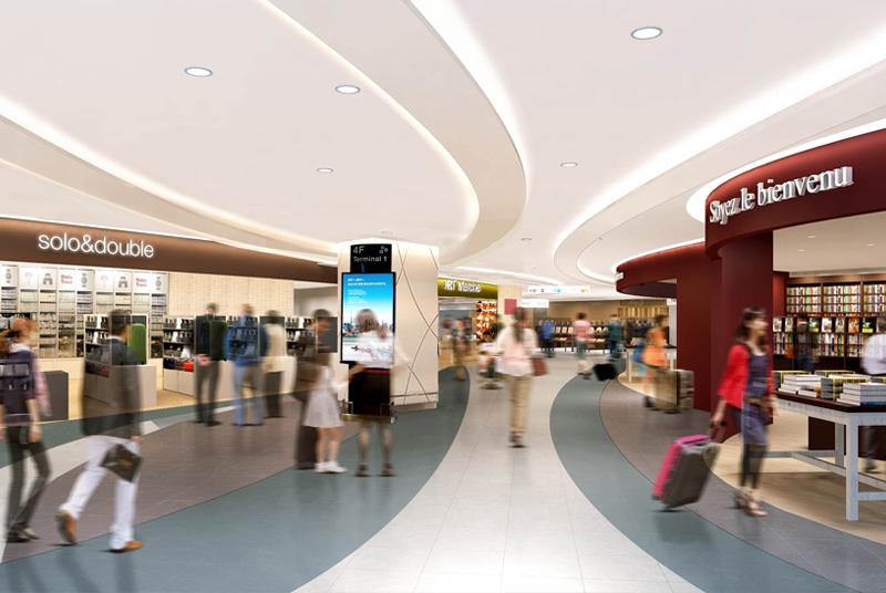 ショッピングセンターとして日本一を記録した【成田空港】